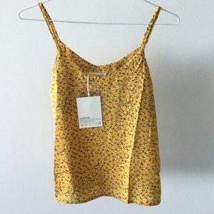 Yellow Floral Camisole